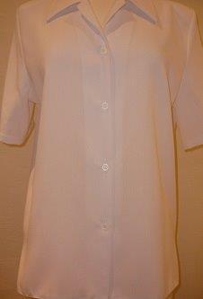 Nicole Lewis Revere Collar Blouse II - White