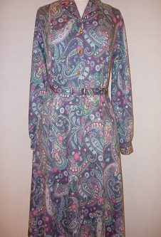 Nicole Lewis Long Sleeve - Multi Paisley