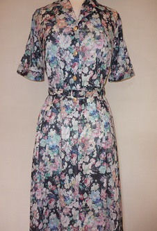 Nicole Lewis Shirt Dress - Multi Floral II