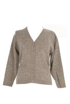 Nicole Lewis Embroidered Cardigan - Grey