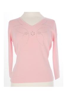 Nicole Lewis Sequin Top III - Pink