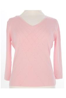 Nicole Lewis Sequin Top VI - Pink