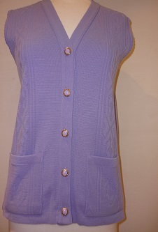 Nicole Lewis Waistcoat with pockets - Lavender