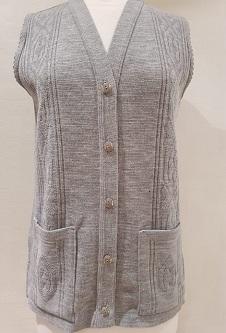 Nicole Lewis Waistcoat with pockets - Grey