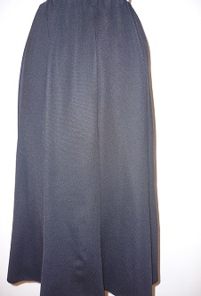Nicole Lewis - Flared Jersey Skirt - Black