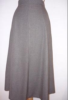 Nicole Lewis 6 Panel Skirt - Taupe