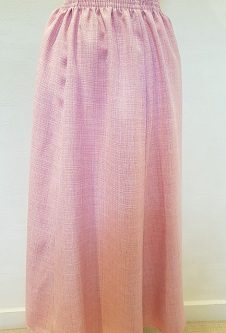 Nicole Lewis Elasticated Panel Skirt - Pink