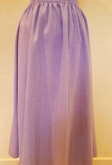 Nicole Lewis Elasticated Panel Skirt - Lilac