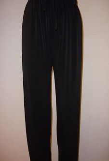 Nicole Lewis Wide Leg Palazzo Trousers - Black