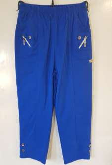 Nicole Lewis Cropped Trousers - Royal Blue